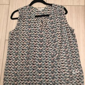 Cabi tweet bird sleeveless shirt